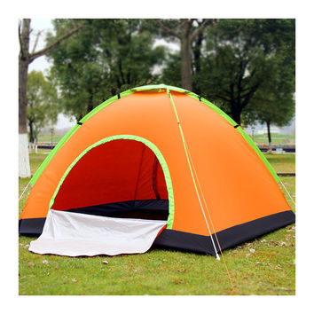 3-4 people Quick Automatic Opening  Camping Tent  Outdoor sunscreen  Travel Mountain Climbing Picnic Camping Fishing Tent