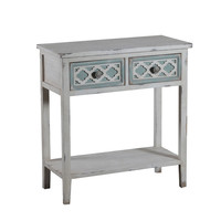 Powell Aubrey 2 Drawer Console