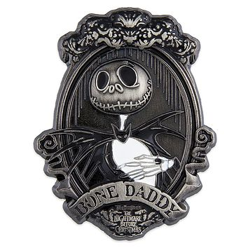 Disney Jack Skellington Portrait Pin The Nightmare Before Christmas Boone Daddy