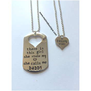 Daddy's Girl Necklaces Set