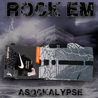 Asockalypse Custom Nike Elite Socks | Rock 'Em Apparel
