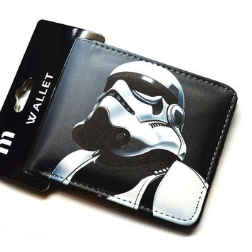 Star Wars Force Episode 1 2 3 4 5 Cartoon wallet     fashion wallet  Boy and girl wallet AT_72_6