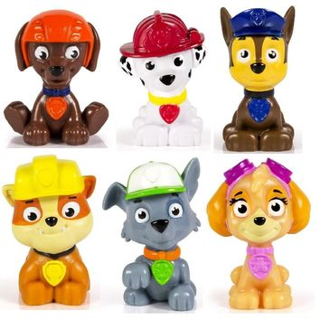 Paw patrol Dog Anime Toys Figurine Toy Action Figure model patrulla canina kids toys Children Gifts