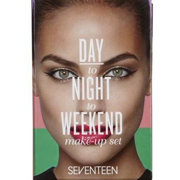 Seventeen Day to Night to Weekend Makeup Set