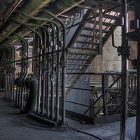 Industrial Location Photography Backdrop / 596