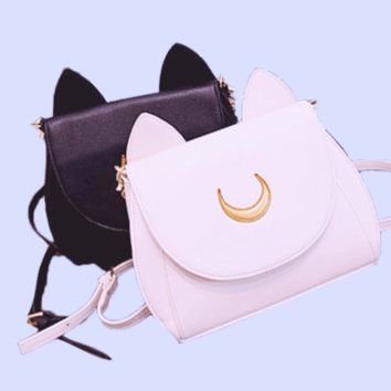 moon cat handbags