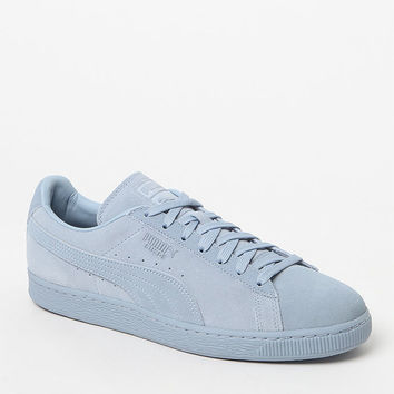 Puma Suede Classic Tonal Blue Shoes at PacSun.com