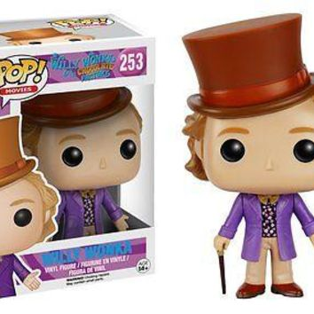 Funko Pop Movies: Willy Wonka Vinyl Figure