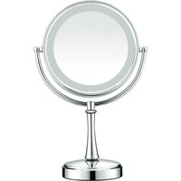 Conair Touch Control Double-Sided Lighted Satin Nickel Mirror - Walmart.com