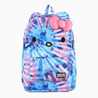 Hello Kitty 3D Backpack: Tie-Dye
