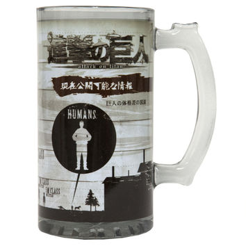 Attack On Titan - Titan Class 16oz Beer Mug