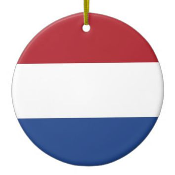 Ornament with flag of Netherlands