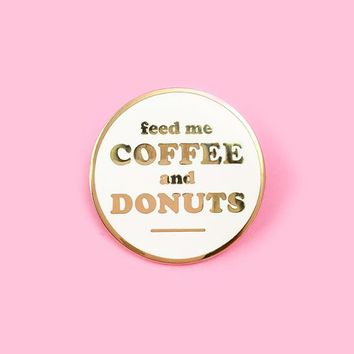 Coffee & Donuts Pin