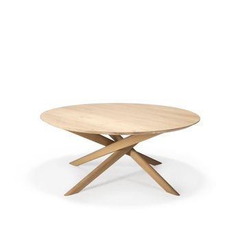 Ethnicraft Oak Mikado Coffee Table - Round