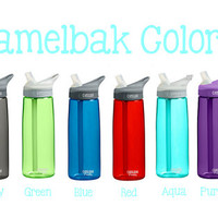 CUSTOM DESIGN Monogrammed Camelbak Water Bottle