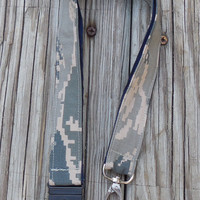 Air Force ABU, Safety Breakaway Fabric Lanyard, Military, , Armed Forces