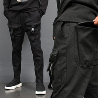 4 Zipper Big Cargo Pocket Sweatpants