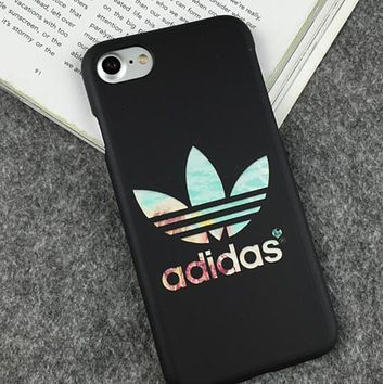 Nike Adidas Trending Personality iPhone 7 iPhone 7 plus - Stylish Cute Luminous On Sale Hot Deal iphone Matte Couple Phone Case For iphone 8 8 6plus