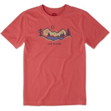 Men's Hike Mountain Vista Crusher Tee