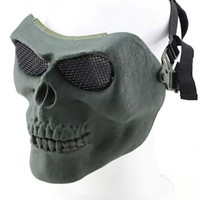 Surwish Skull Chieftain Mask for Nerf or for Airsoft Halloween Activities