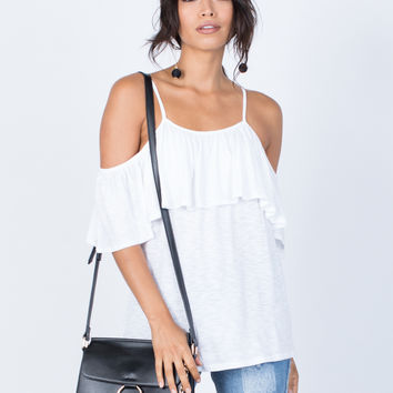 Sway with Ruffles Top