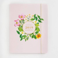 2018-2019 Jumbo Floral Booklet Planner