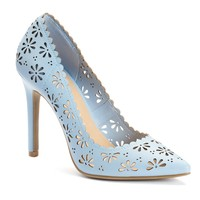 LC Lauren Conrad Women's Floral Pumps