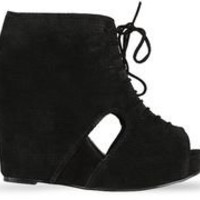 Jeffrey Campbell Mary Roks in Black at Solestruck.com