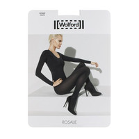 Wolford Womens Rosalie Opague Ankle Rose Tights