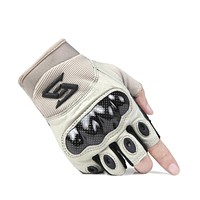 Anti-skid Full Finger Leather Tactical Gloves