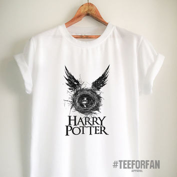 Harry Potter Shirts Harry Potter Merchandise Cursed Child T Shirts Clothes for Women Girls Men
