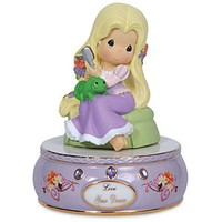 ''Live Your Dream'' Musical Rapunzel Figurine by Precious Moments | Disney Store