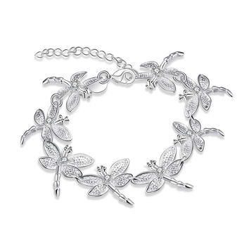 Eight Dragonflies Bracelet