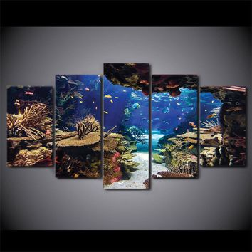 Coral Reef Paradise 5PC Canvas
