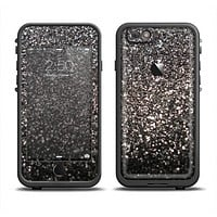 The Black Unfocused Sparkle Apple iPhone 6/6s Plus LifeProof Fre Case Skin Set