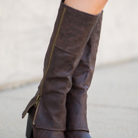The Layla Boot, Brown
