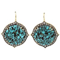 Sylva & Cie 'Kingman' drop earrings