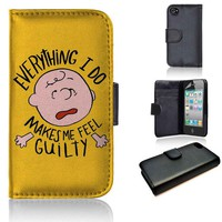 Charlie Brown | wallet case | iPhone 4/4s 5 5s 5c 6 6+ case | samsung galaxy s3 s4 s5 s6 case |