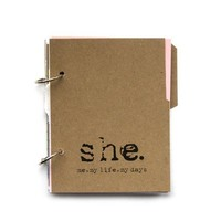 Personal Journal or Diary with Writing Prompts by makingthishome