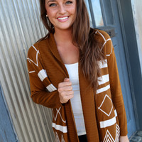 Rainy Day Cardigan {Caramel}