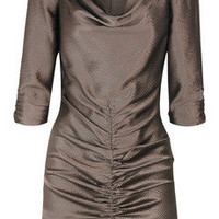 ALICE by Temperley Mini Alba hammered-silk mini dress - 60% Off Now at THE OUTNET