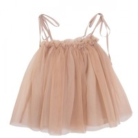 2way tulle kids one-piece