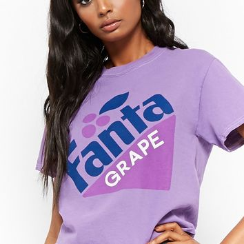 Fanta Grape Graphic Tee