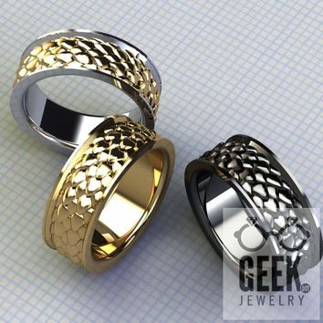 Dragon Scale Ring- Gents
