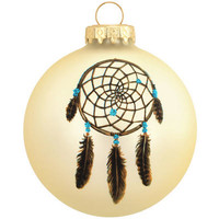 Legend Of The Dreamcatcher Glass Ornament - Ethnic Pride - Bronner's Exclusive - Christmas Ornaments - bronners - Categories - Bronner's CHRISTmas Wonderland
