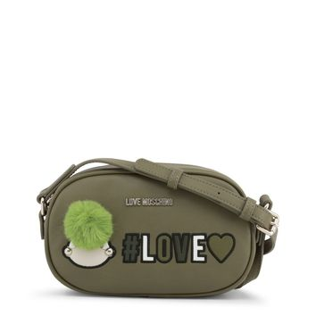 Love Moschino Green Crossbody Bag