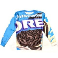 Unisex Hipster Funny Sweater Oreo Sweatshirt Hoodies 3D T Shirts (L)