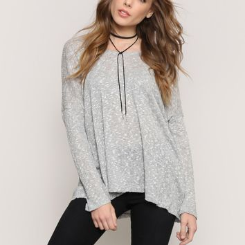 Take It Easy Sweater - Tops - Clothes at Gypsy Warrior