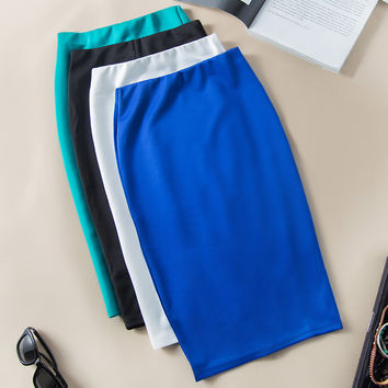 Mutil Color Sexy women Fashion Luxury evening Party bandage Skirts OLSlim Skirt Sexy Style women Slim Hip Skirt