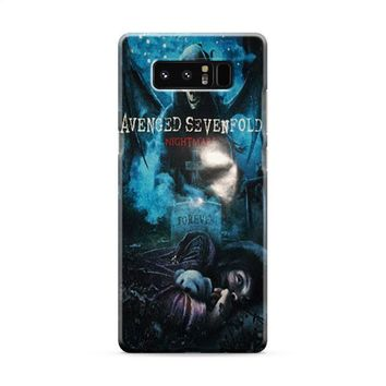 Avenged Sevenfold Nightmare Most Wanted Samsung Galaxy Note 8 Case